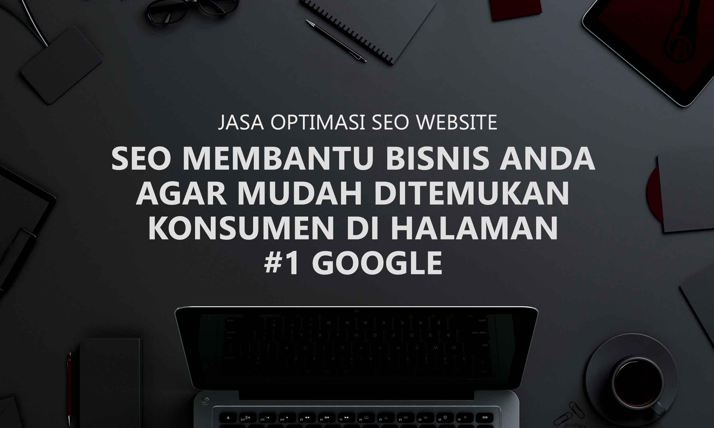 Jasa Optimasi SEO Website
