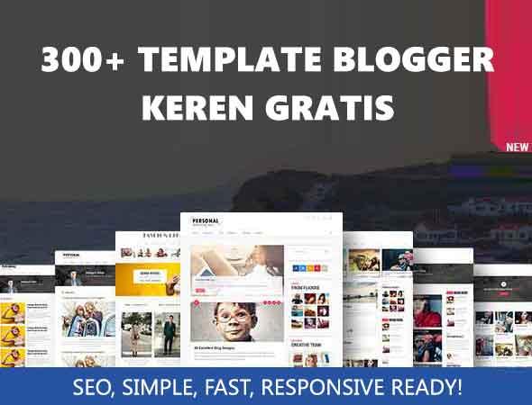 Template Blogger Keren Gratis