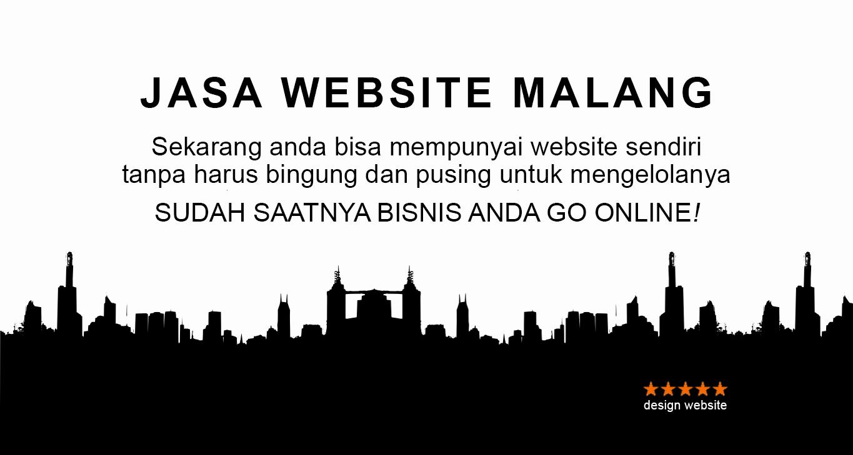 Jasa Pembuatan Website Malang yang murah