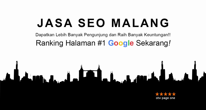 Jasa SEO Malang Bergaransi