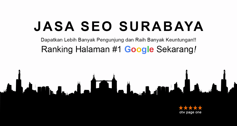 Jasa SEO Surabaya Profesional Bergaransi