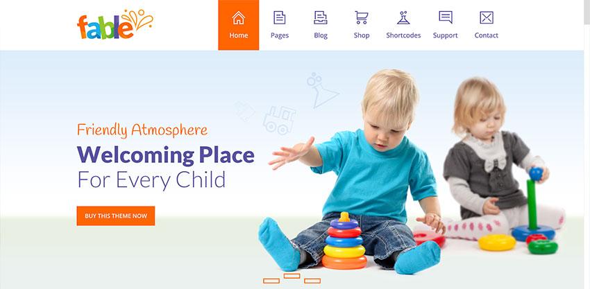 Contoh Website Penitipan Anak